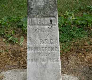 ARMSTRONG, INFANT - Marion County, Ohio | INFANT ARMSTRONG - Ohio Gravestone Photos