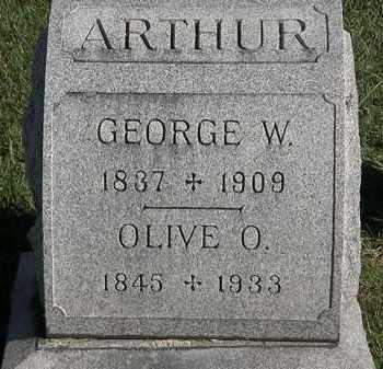 ARTHUR, OLIVE O. - Marion County, Ohio | OLIVE O. ARTHUR - Ohio Gravestone Photos