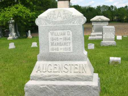 AUGENSTEIN, MARGARET - Marion County, Ohio | MARGARET AUGENSTEIN - Ohio Gravestone Photos
