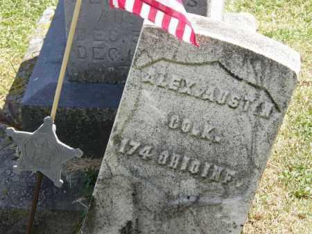 AUSTIN, ALEX - Marion County, Ohio | ALEX AUSTIN - Ohio Gravestone Photos