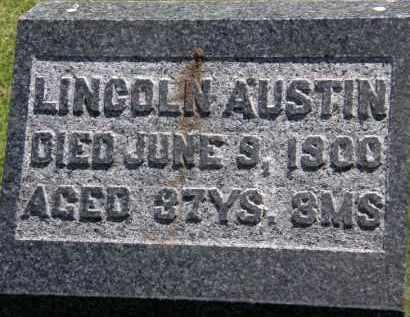 AUSTIN, LINCOLN - Marion County, Ohio | LINCOLN AUSTIN - Ohio Gravestone Photos