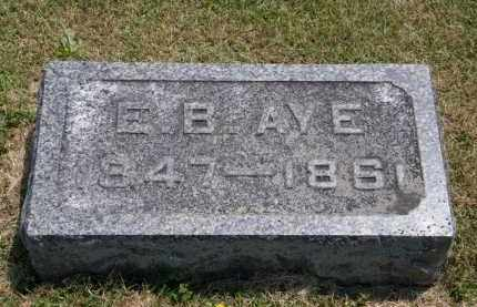 AYE, E.B. - Marion County, Ohio | E.B. AYE - Ohio Gravestone Photos