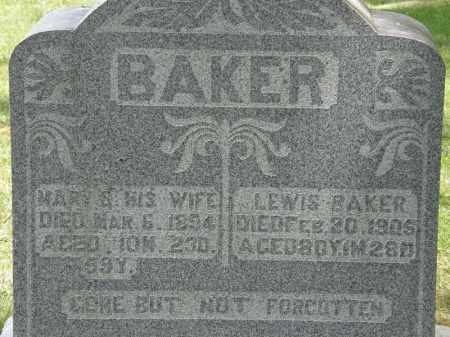 BAKER, LEWIS - Marion County, Ohio | LEWIS BAKER - Ohio Gravestone Photos