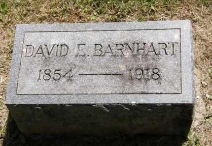 BARNHART, DAVID E. - Marion County, Ohio | DAVID E. BARNHART - Ohio Gravestone Photos