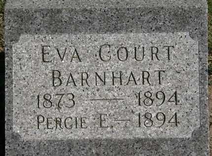 BARNHART, EVA COURT - Marion County, Ohio | EVA COURT BARNHART - Ohio Gravestone Photos