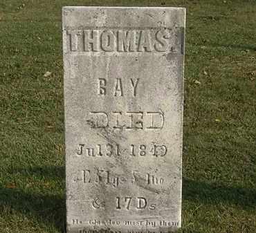 BAY, THOMAS - Marion County, Ohio | THOMAS BAY - Ohio Gravestone Photos