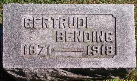 KIGHTLINGER BENDING, GERTRUDE - Marion County, Ohio | GERTRUDE KIGHTLINGER BENDING - Ohio Gravestone Photos