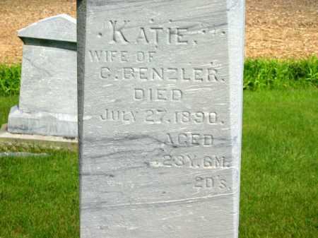 BENZLER, KATIE - Marion County, Ohio | KATIE BENZLER - Ohio Gravestone Photos