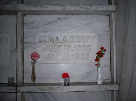 READING BERRY, ALMA ALICE - Marion County, Ohio | ALMA ALICE READING BERRY - Ohio Gravestone Photos