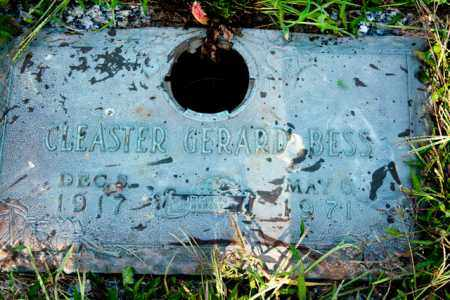 BESS, CLEASTER GERARD - Marion County, Ohio   CLEASTER GERARD BESS - Ohio Gravestone Photos