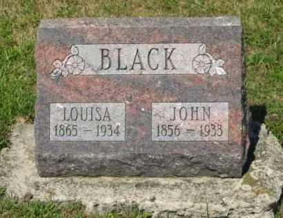BLACK, JOHN - Marion County, Ohio | JOHN BLACK - Ohio Gravestone Photos