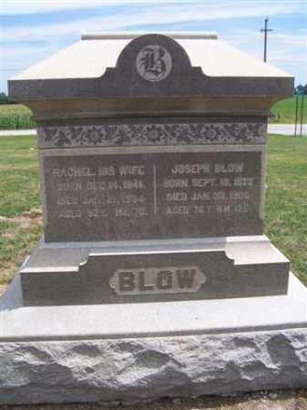 BLOW, RACHEL - Marion County, Ohio | RACHEL BLOW - Ohio Gravestone Photos