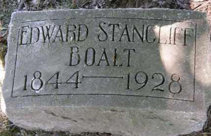 BOALT, EDWARD STANCLIFF - Marion County, Ohio | EDWARD STANCLIFF BOALT - Ohio Gravestone Photos