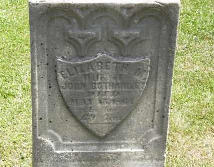 BOTHAMLEY, JOHN - Marion County, Ohio | JOHN BOTHAMLEY - Ohio Gravestone Photos