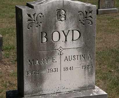 BOYD, MARY E. - Marion County, Ohio | MARY E. BOYD - Ohio Gravestone Photos