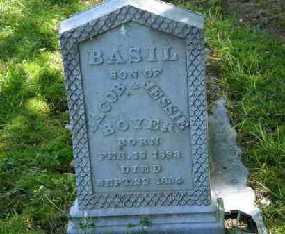 BOYER, JESSIE - Marion County, Ohio | JESSIE BOYER - Ohio Gravestone Photos