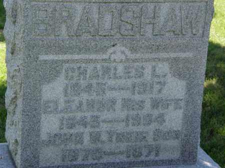 BRADSHAW, CHARLES L. - Marion County, Ohio   CHARLES L. BRADSHAW - Ohio Gravestone Photos