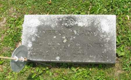 BRADY, VERNA - Marion County, Ohio   VERNA BRADY - Ohio Gravestone Photos