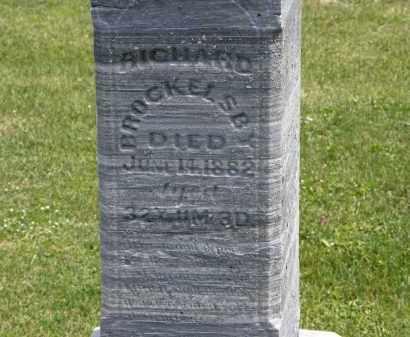 BROCKELSBY, RICHARD - Marion County, Ohio   RICHARD BROCKELSBY - Ohio Gravestone Photos