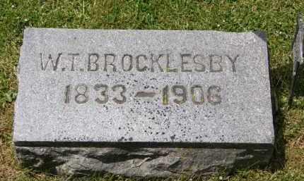 BROCKLESBY, W.T. - Marion County, Ohio   W.T. BROCKLESBY - Ohio Gravestone Photos