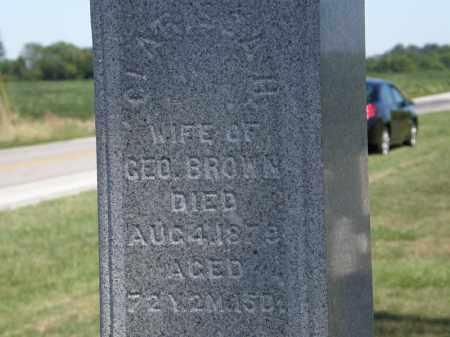BROWN, GEO. - Marion County, Ohio   GEO. BROWN - Ohio Gravestone Photos