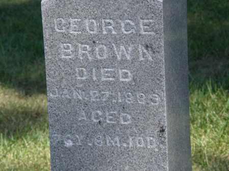 BROWN, GEORGE - Marion County, Ohio | GEORGE BROWN - Ohio Gravestone Photos