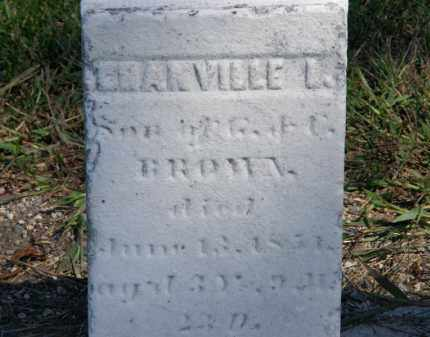 BROWN, GRANVILLE L. - Marion County, Ohio | GRANVILLE L. BROWN - Ohio Gravestone Photos