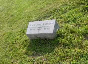 BROWN, MARGARETE A - Marion County, Ohio   MARGARETE A BROWN - Ohio Gravestone Photos