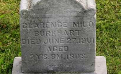 BURKHART, CLARENCE MILO - Marion County, Ohio | CLARENCE MILO BURKHART - Ohio Gravestone Photos