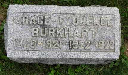 BURKHART, GRACE - Marion County, Ohio   GRACE BURKHART - Ohio Gravestone Photos