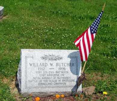 BUTCHER, WILLARD W. - Marion County, Ohio | WILLARD W. BUTCHER - Ohio Gravestone Photos