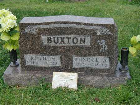 BUXTON, RUTH - Marion County, Ohio | RUTH BUXTON - Ohio Gravestone Photos