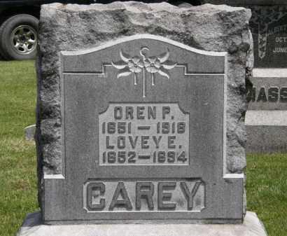 CAREY, LOVEY E. - Marion County, Ohio   LOVEY E. CAREY - Ohio Gravestone Photos