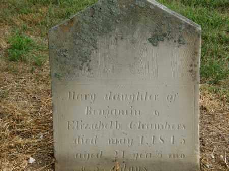 CHAMBERS, MARY - Marion County, Ohio | MARY CHAMBERS - Ohio Gravestone Photos