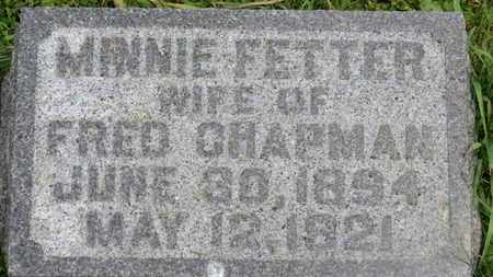CHAPMAN, FRED - Marion County, Ohio | FRED CHAPMAN - Ohio Gravestone Photos