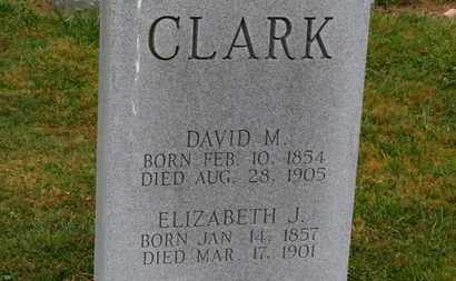 CLARK, DAVID M. - Marion County, Ohio | DAVID M. CLARK - Ohio Gravestone Photos