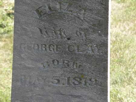 CLAY, ELIZA - Marion County, Ohio | ELIZA CLAY - Ohio Gravestone Photos