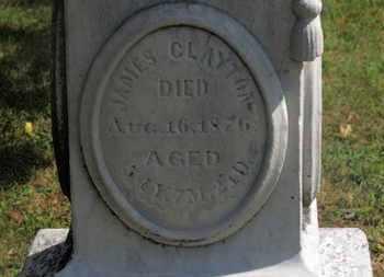 CLAYTON, JAMES - Marion County, Ohio | JAMES CLAYTON - Ohio Gravestone Photos