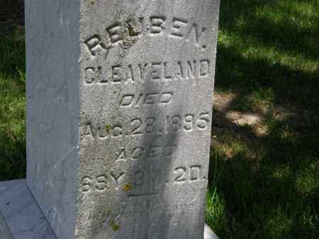 CLEAVELAND, REUBEN - Marion County, Ohio   REUBEN CLEAVELAND - Ohio Gravestone Photos