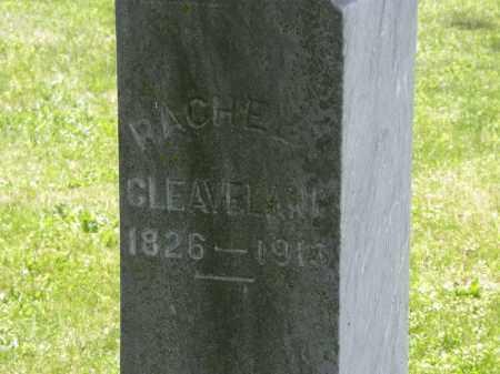 CLEAVLAND, RACHEL - Marion County, Ohio   RACHEL CLEAVLAND - Ohio Gravestone Photos