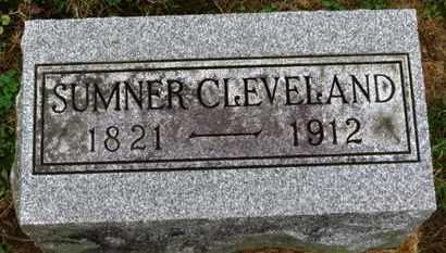 CLEVELAND, SUMNER - Marion County, Ohio   SUMNER CLEVELAND - Ohio Gravestone Photos