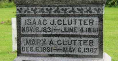 CLUTTER, MARY A. - Marion County, Ohio | MARY A. CLUTTER - Ohio Gravestone Photos