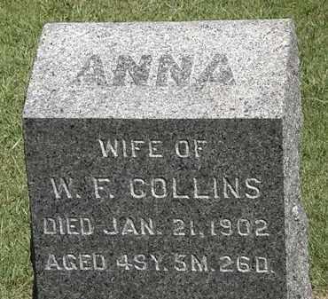 COLLINS, W.F. - Marion County, Ohio | W.F. COLLINS - Ohio Gravestone Photos