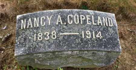 COPELAND, NANCY A. - Marion County, Ohio   NANCY A. COPELAND - Ohio Gravestone Photos