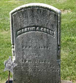 CORN, MARTIN A. - Marion County, Ohio | MARTIN A. CORN - Ohio Gravestone Photos