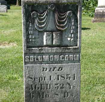 CORN, SOLOMON - Marion County, Ohio | SOLOMON CORN - Ohio Gravestone Photos