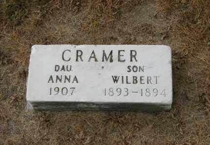 CRAMER, WILBERT - Marion County, Ohio | WILBERT CRAMER - Ohio Gravestone Photos