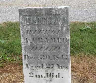 CRAMER, ISABELLA - Marion County, Ohio | ISABELLA CRAMER - Ohio Gravestone Photos
