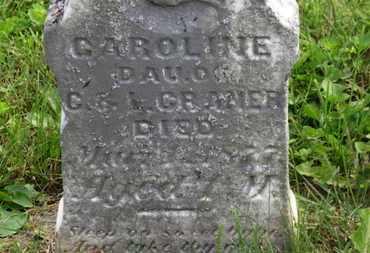CRANER, CAROLINE - Marion County, Ohio | CAROLINE CRANER - Ohio Gravestone Photos