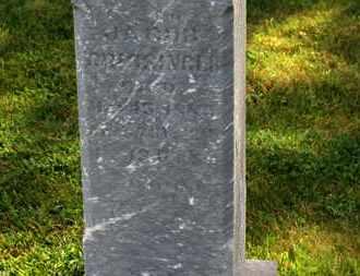 CRISSINGER, JACOB - Marion County, Ohio | JACOB CRISSINGER - Ohio Gravestone Photos
